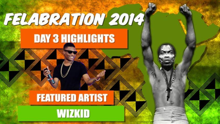 Watch Wizkid's performance at Felabration 2014 [ViDeo]