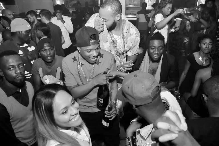 wizkid, Tania and 2baba - PRE's 25th birthday party