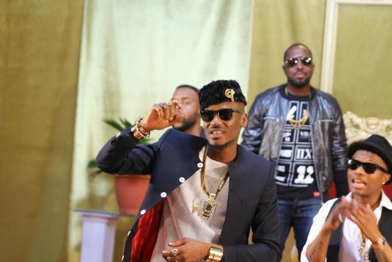 2face and Wizkid 'Dance Go' video shoot