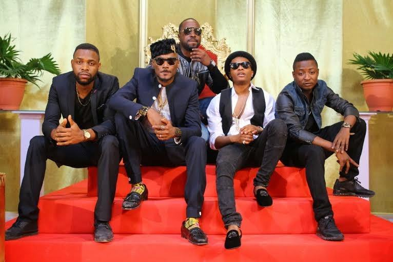 2face and Wizkid's 'Dance Go' video shoot