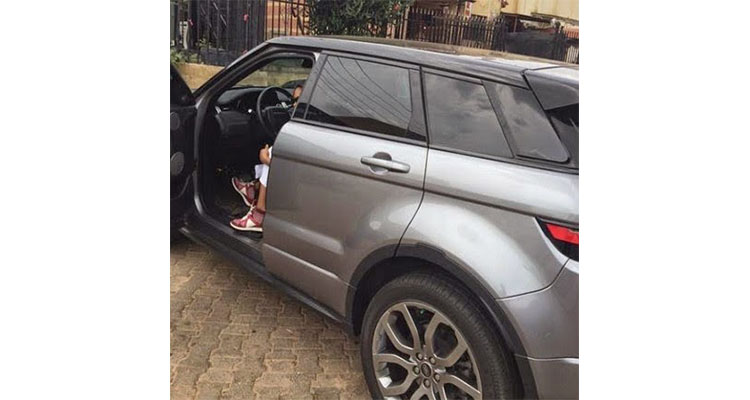 Chidinma Ekile acquires new range rover