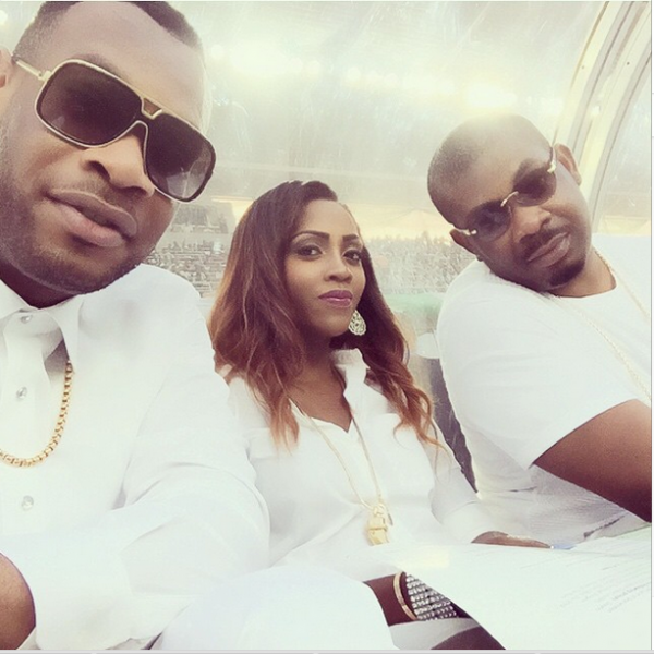 Don Jazzy & Mavin crew step out in all white