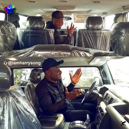 Harrysong acquires 2009 Hummer H2 SUV