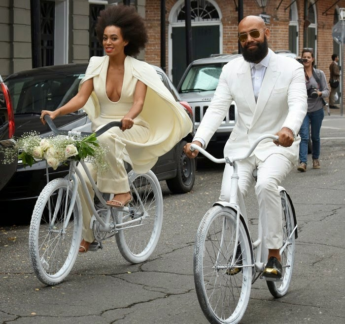 Solange marries Alan Ferguson