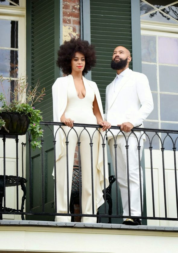 Solange marries longtime boyfriend Alan Ferguson