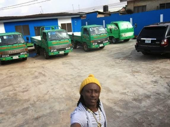 Terry G in his Water Factory
