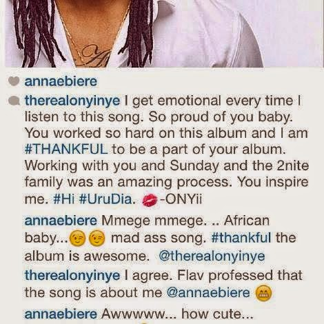 anna ebiere and oyinye fight over flavour