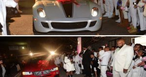 Lil Wayne's daughter gets a Ferrari and BMW on her 16th birthday