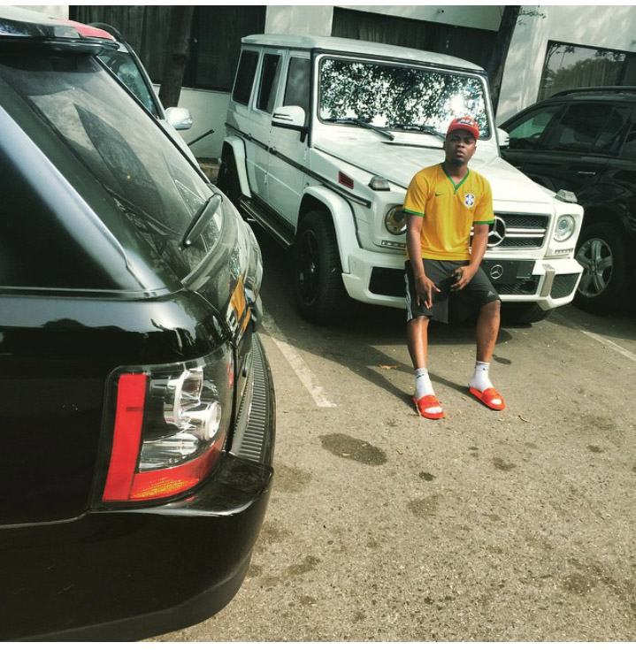 Olamide acquire G wagon