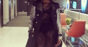 Seyi Shay revealing outfit to Channel O Awards NaijaVibe