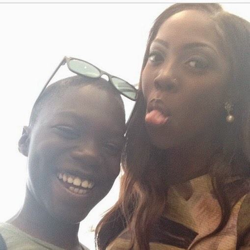 Tiwa Savage has a son we all don't know about