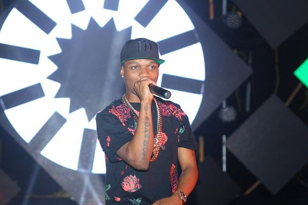 Wizkid performing at The Hennessy Artistry