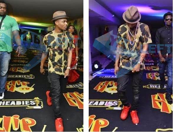 Wizkid walked out of Headies Awards