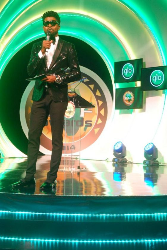 BasketMouth - The Glo CAF awards 2015