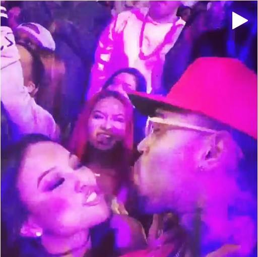 Chris Brown & Karrueche celebrates the New Year with love NaijaVibe