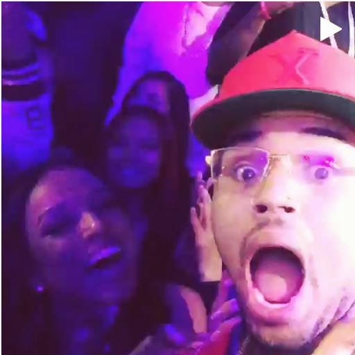 Chris Brown & Karrueche celebrates the New Year with love