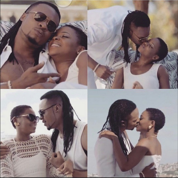 Flavour and Chidinma kiss