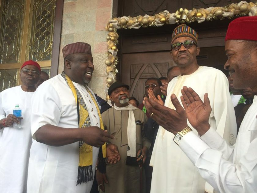 Okorocha with Buhari