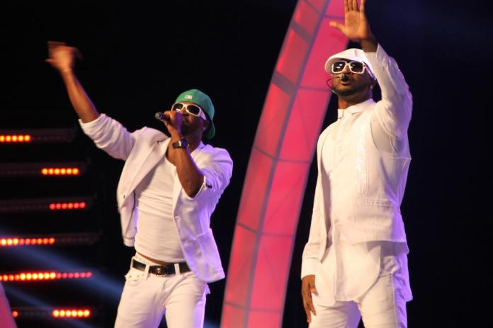 Psquare - The Glo CAF awards