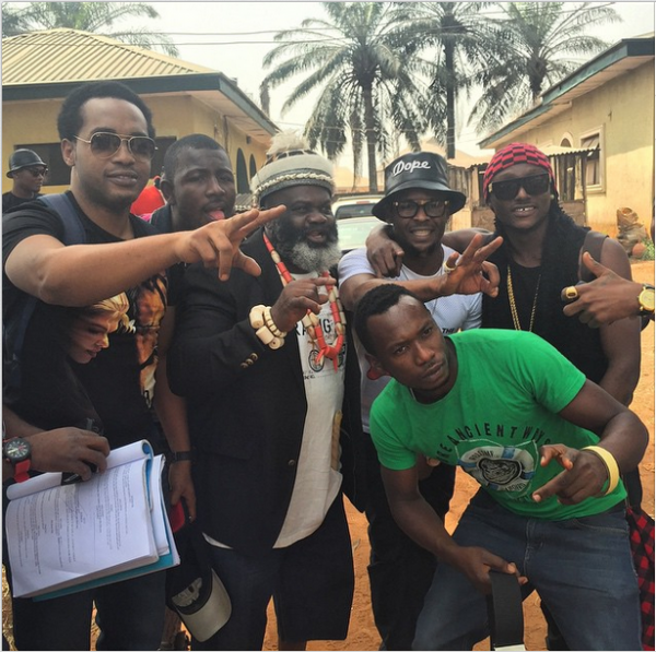 Terry G and movie team