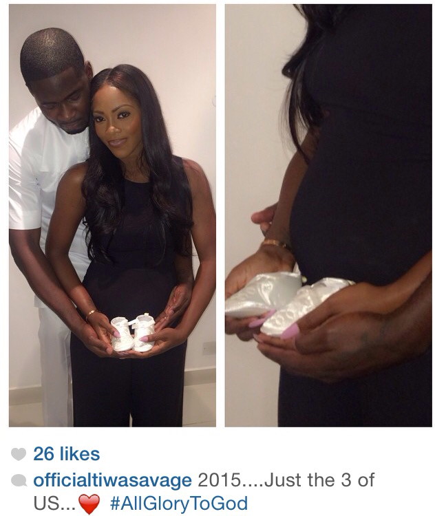 Tiwa Savage reveals she is pregnant