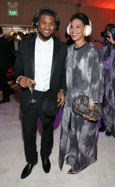 Usher & Longtime Girlfriend Grace Miguel