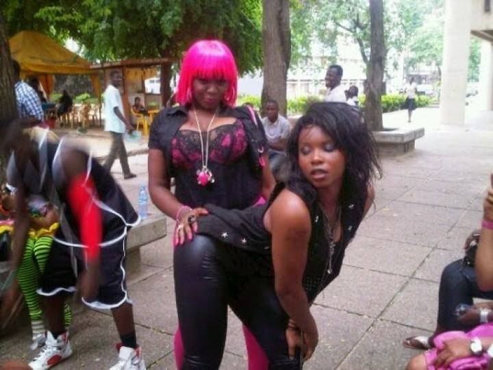 Throwback photos of singer Yemi Alade from her days in UNILAG