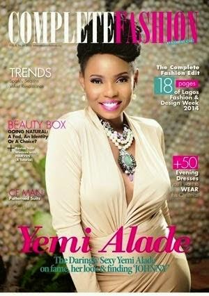 Flavour and Yemi Alade cover January issue of Complete Fashion Magazine