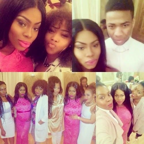 Photos from rapper 2shotz wife's baby shower