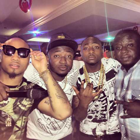 B-red, Mc Galaxy, Davido and Elenu