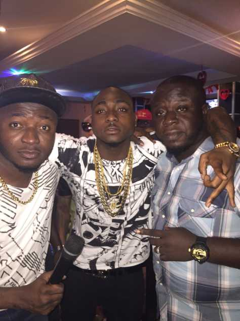 Davido, Elenu and Mc Galaxy