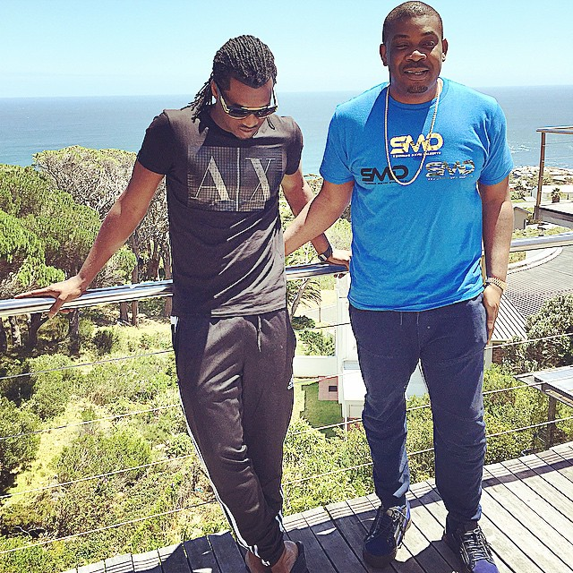 Don Jazzy and Rudeboy