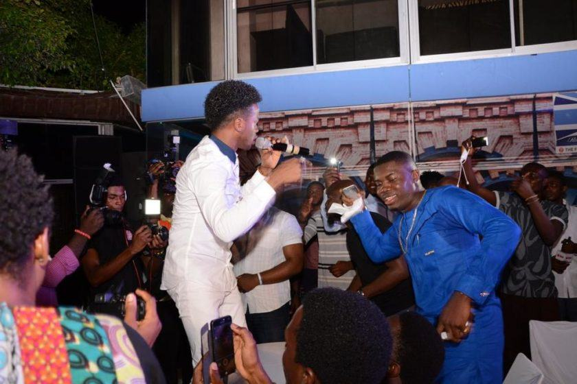 Korede Bello performance