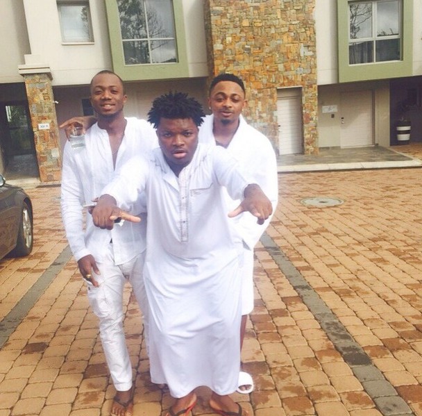 Sean Tizzle and Dtunes - 'Bottles' Video Shoot