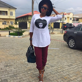 Waje spotted looking chic