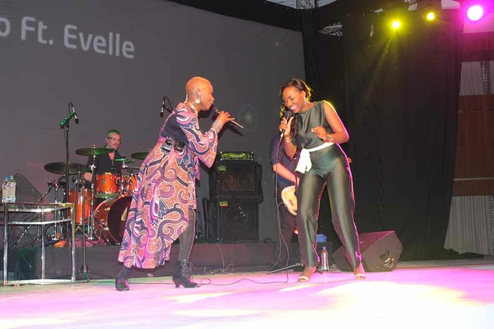 Angelique Kidjo and Evelle