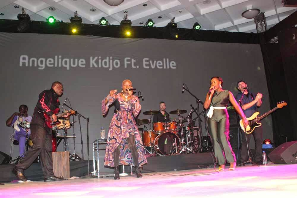Angelique Kidjo features Evelle (Nigerian Idol Winner S4)