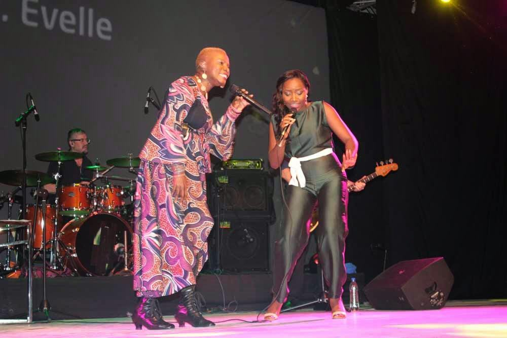 Angelique Kidjo features Evelle