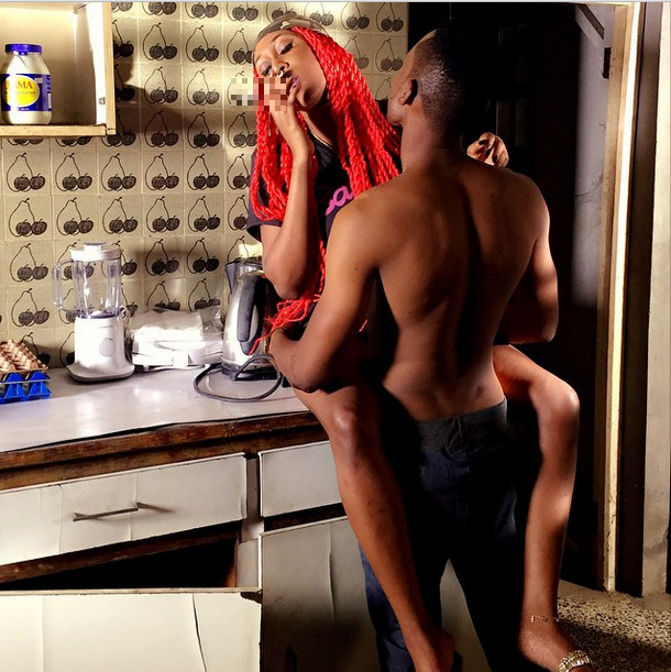 Cynthia Morgan raunchy photo