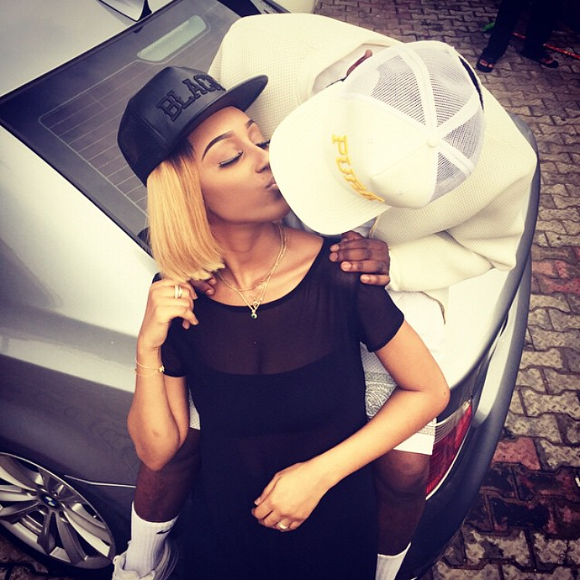 Ice Prince and Maima Nkewa loved up
