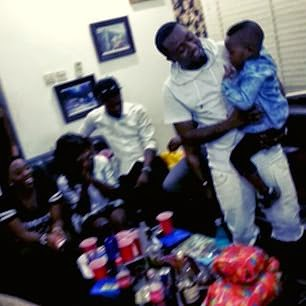 Ice Prince throw his son a birthday party