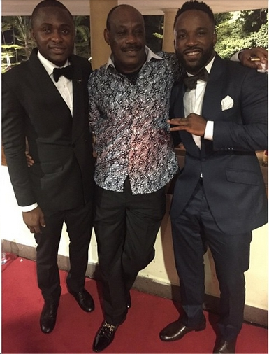 Iyanya, Ubi Franklin, Don Jazzy's Dad