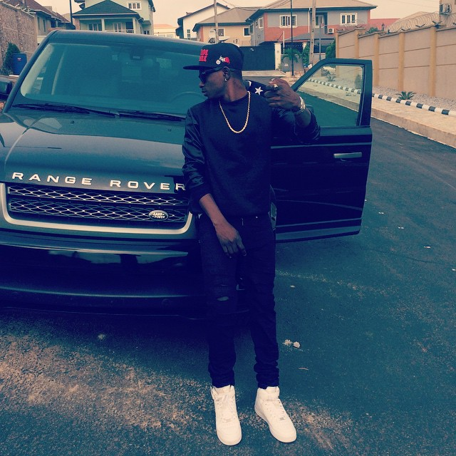 Lil Kesh Acquires Range Rover