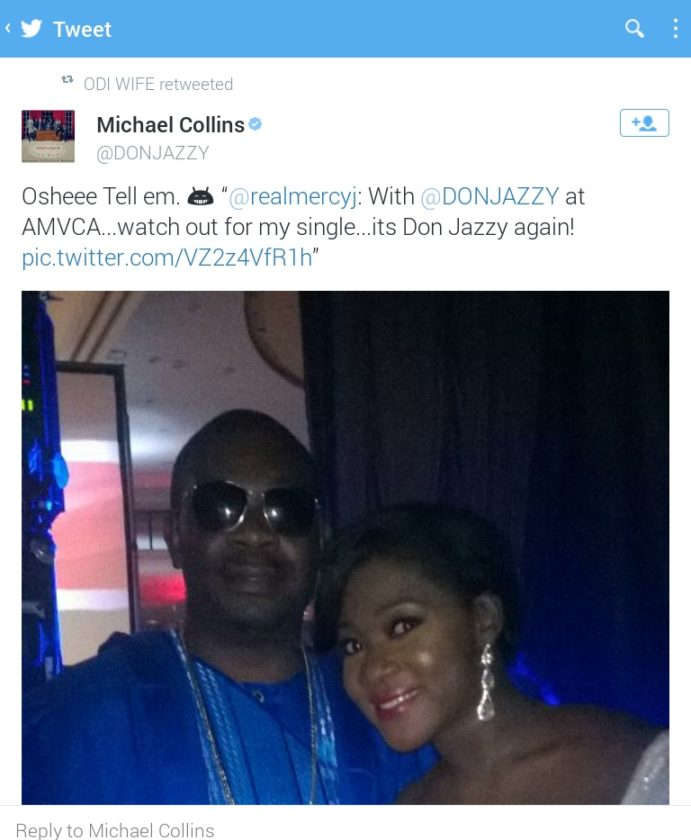 Mercy Johnson To Feature Don Jazzy