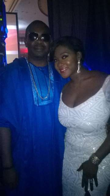 Mercy Johnson and Don Jazzy