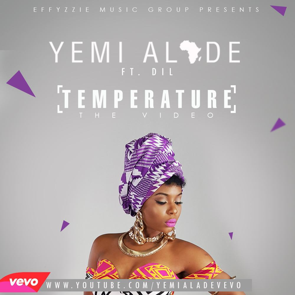 Yemi Alade - Temperature ft DIL [ViDeo]