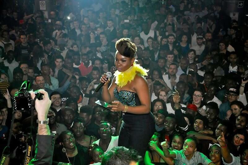 Yemi Alade take over! Photos from her sold out concert at Black Qube, Rome