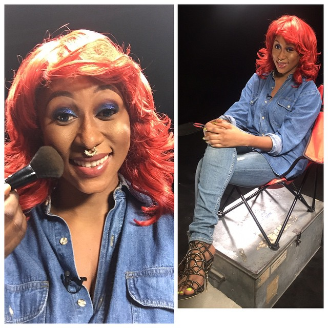 Cynthia Morgan still rocking her nose ring