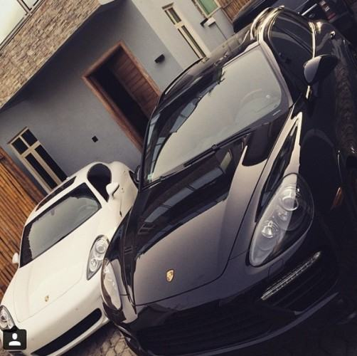 Davido's brother also buys a Panamera Turbo S