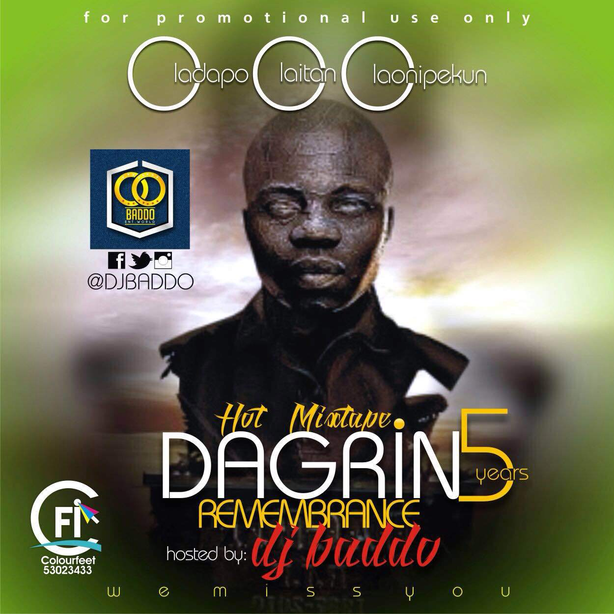 Dj Baddo - Best Of Dagrin [MixTape]